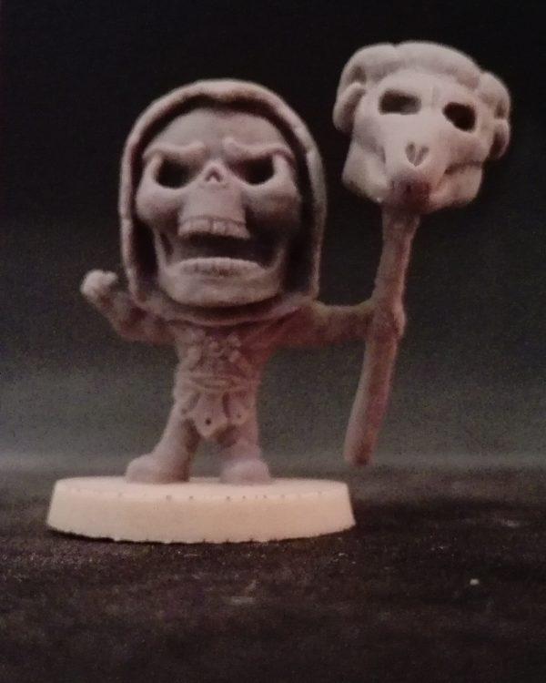 Escultura Eskeletor miniatura para juego de mesa, rol, estrategia, wargame