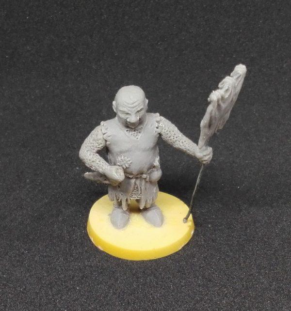 escultura de un caballero renegado, para juegos de mesa, de rol, de estrategia o wargames