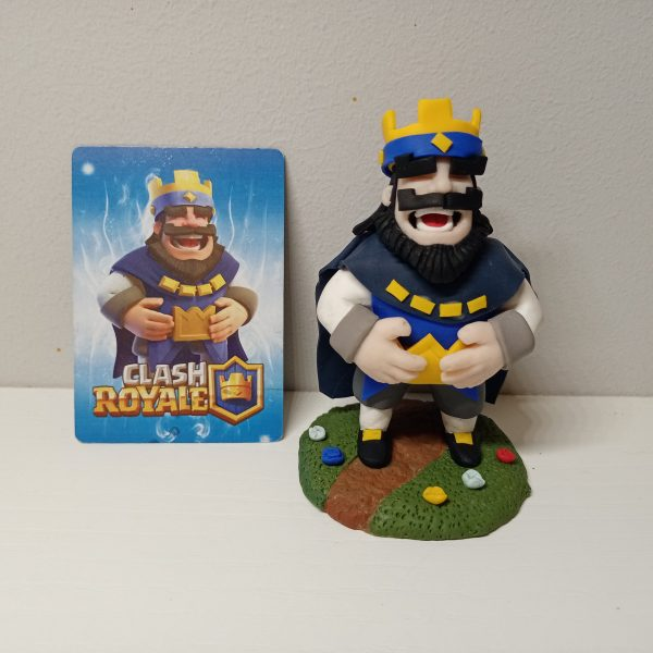 Portada figura rey clash royale